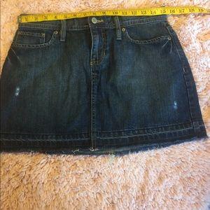Gap Jeans women's mini skirt in size 0